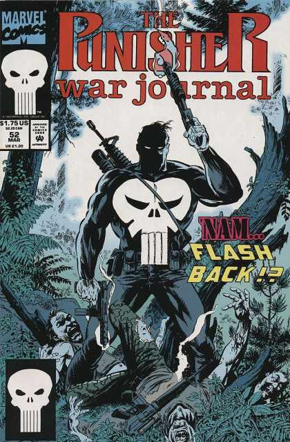 Punisher War Journal 52 - Scary Movie - Violence - Battle Cry - Going To Settle The Score - Victory Is Mine