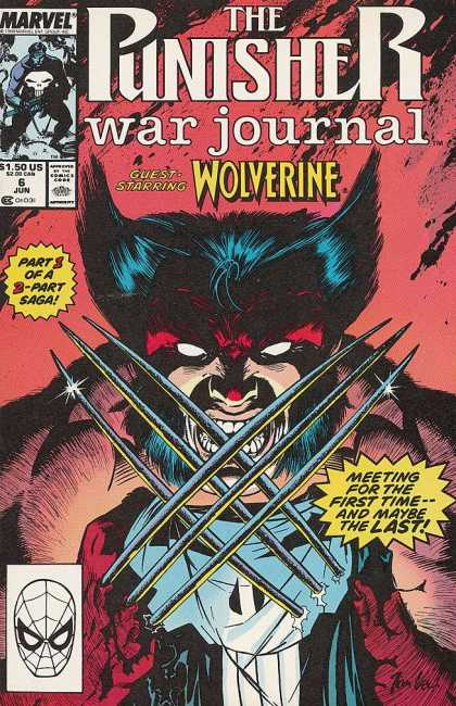 Punisher War Journal 6 - Wolverine - Marvel - 150 - 6 Jun - Jun - Jim Lee
