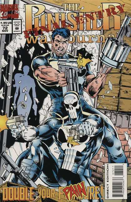 Punisher War Journal 72 - Marvel - Guns - Final Entry - Costume - Double Your Pain