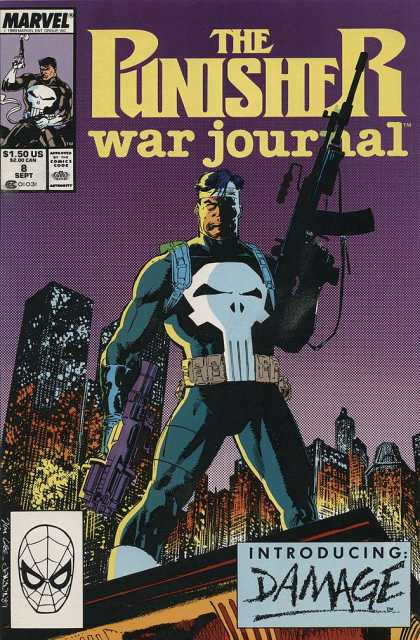 Punisher War Journal 8 - Jim Lee