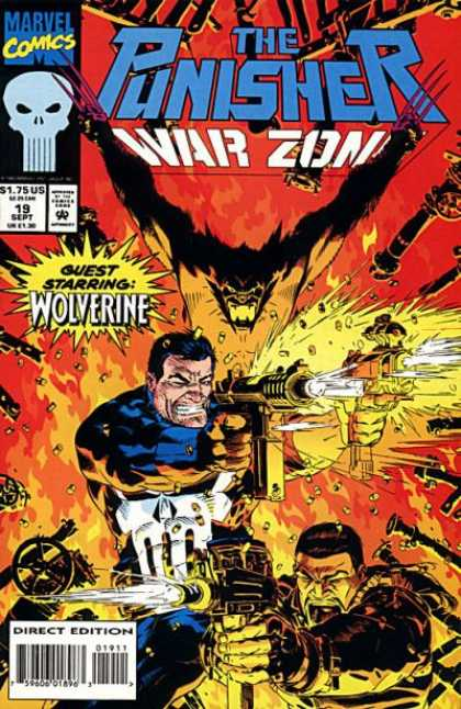 Punisher: War Zone 19 - The Punisher - War Zone - Guest Starring Wolverine - Guns - Explosions