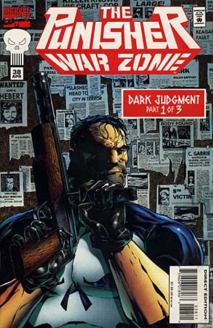 Punisher: War Zone 38 - Dark Mind - Stranger And Gun - Evil Thought - Violence - Untrusting