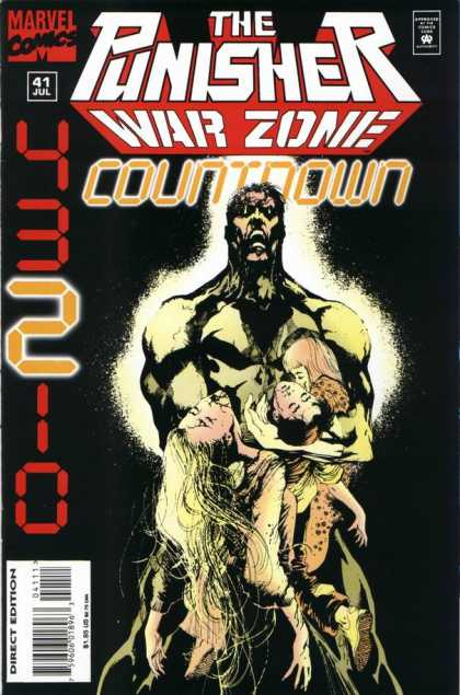 Punisher: War Zone 41 - Countdown - 43210 - 41 - Glowing - Holding Dead