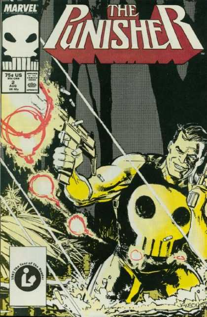 Punisher 2 - Marvel - August - Skull - Gun - Weapon - Klaus Janson, Tim Bradstreet