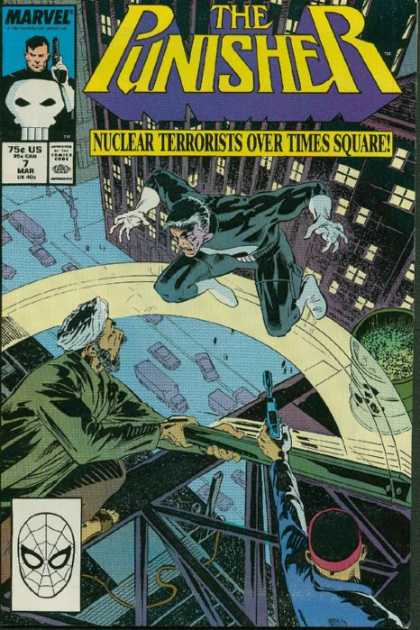 Punisher 7 - Nuclear Terrorists - Times Square - Spiderman - Marvel - Turban - Dave Ross, Tim Bradstreet