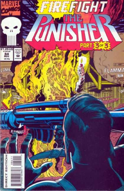 Punisher 84 - Firefight - Flammable - Candle - Part 3 Of 3 - Flames
