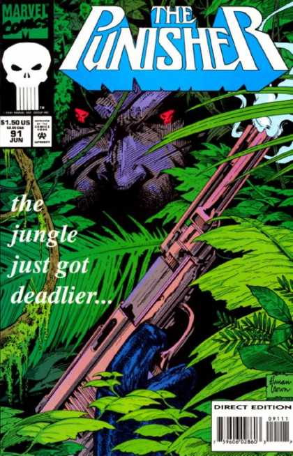 Punisher 91 - Marvel - 91 - Jun - June - The Jungle Just Got Deadlier