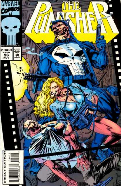 Punisher 96 - The Punisher - Marvel Comics - Direct Edition - 9611 - 150us