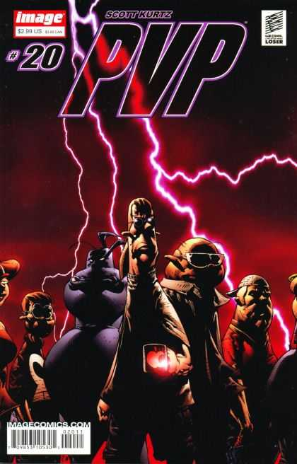 PvP 20 - Scott Kurtz - Apple - Lightning - Glasses - Aliens - David Finch