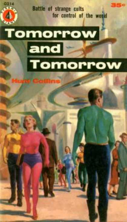Pyramid Books - Tomorrow and Tomorrow - Hunt Collins