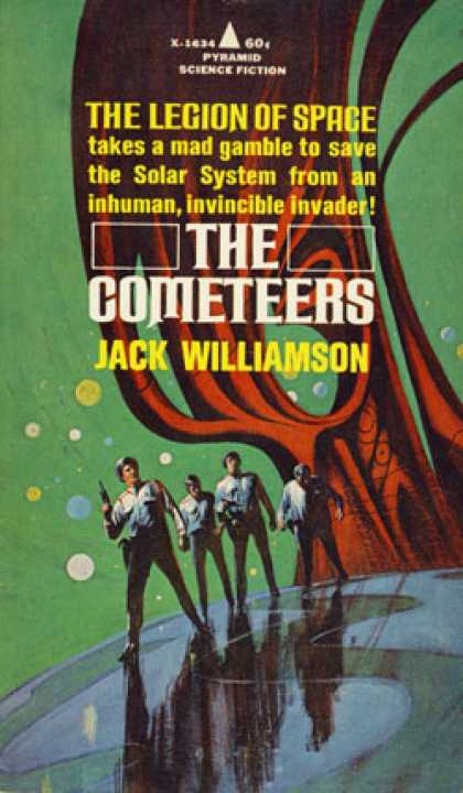Pyramid Books - The Cometeers - Jack Williamson