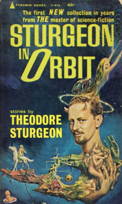 Pyramid Books - Sturgeon In Orbit - Theodore Sturgeon