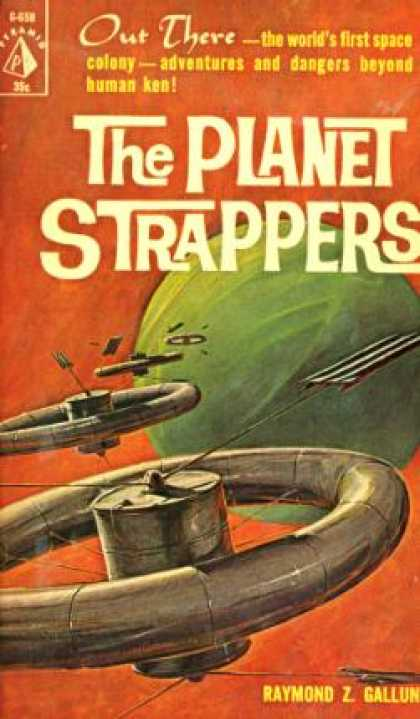 Pyramid Books - The Planet Strappers - Raymond Z. Gallun
