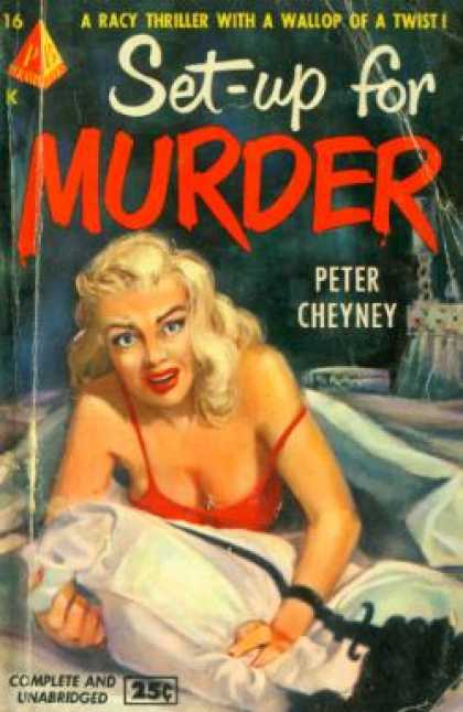 Pyramid Books - Set-up for Murder - Peter Cheyney