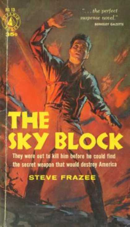 Pyramid Books - The Sky Block - Steve Frazee