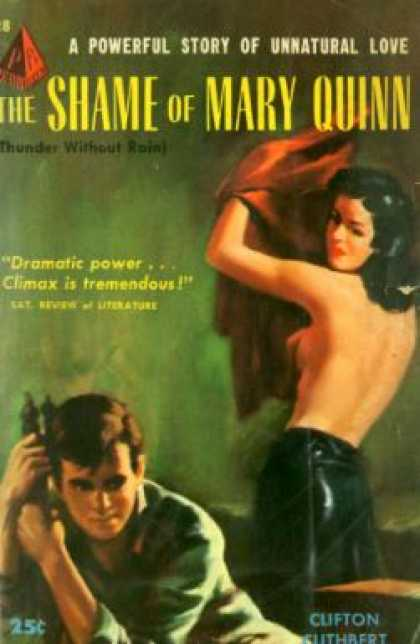 Pyramid Books - The Shame of Mary Quinn - Clifton Cuthbert