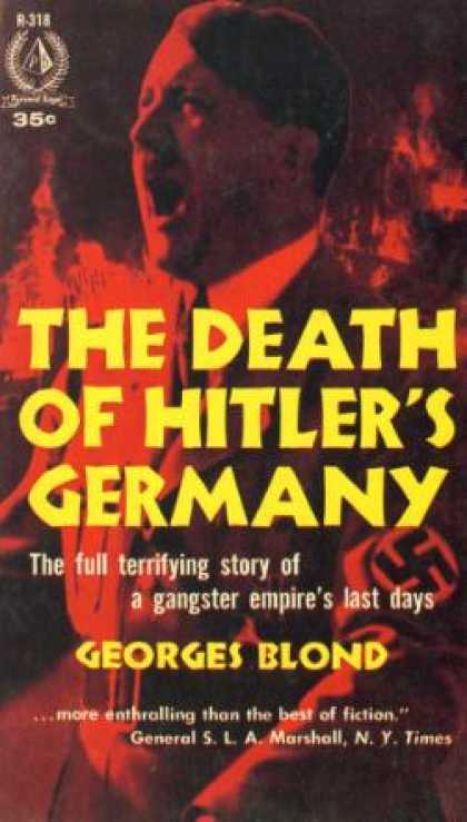 Pyramid Books - The Death of Hitler's Germany - Georges Blond