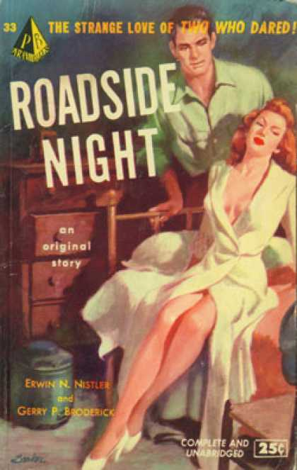 Pyramid Books - Roadside Night - Erwin N. and Broderick, Gerry P. Nistler