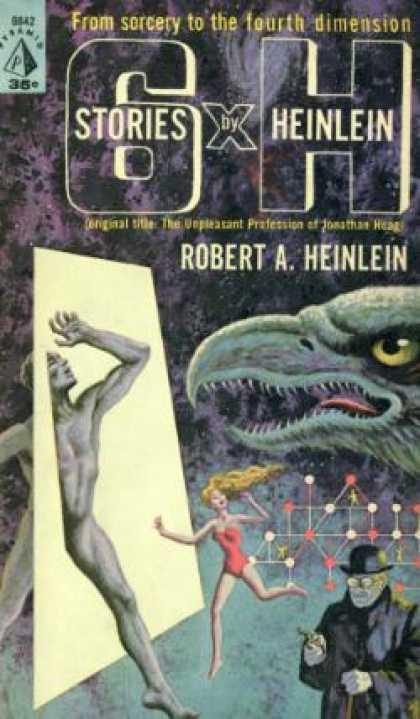 Pyramid Books - 6 X H: Six Stories - Robert a Heinlein