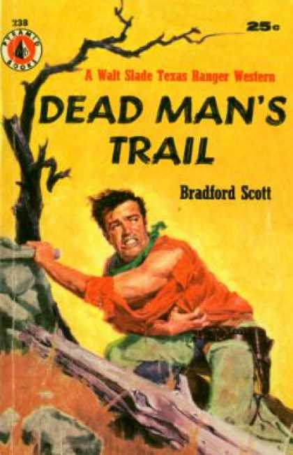 Pyramid Books - Dead Man's Trail - Bradford Scott