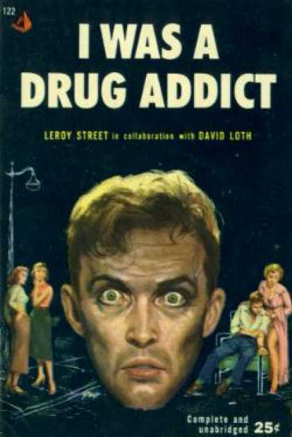 Pyramid Books - I Was a Drug Addict - Leroy Street
