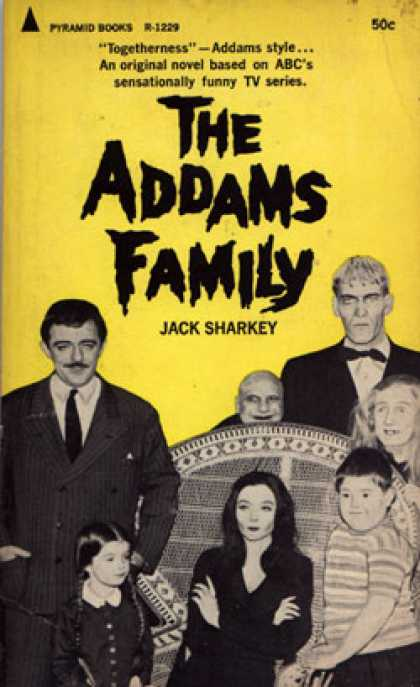 Pyramid Books - The Addams Family - Jack [tv Series Tie-in Cover By Harris Lewine St Sharkey