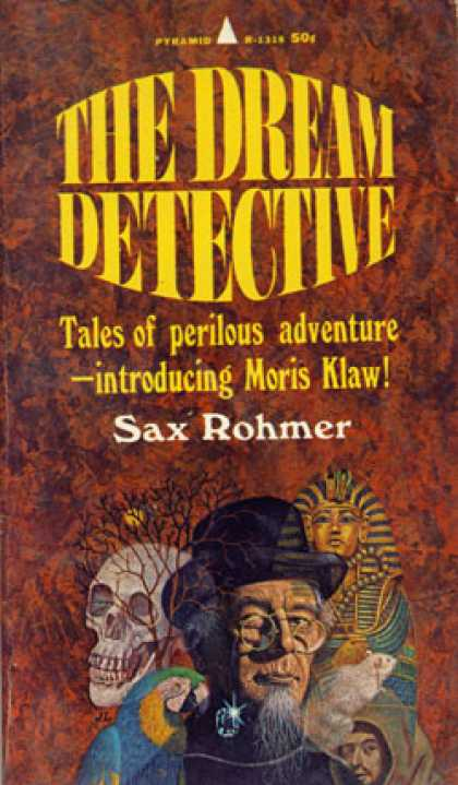 Pyramid Books - The Dream Detective - Sax Rohmer