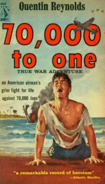 Pyramid Books - 70,000 To 1 - True War Adventure - Quentin Reynolds