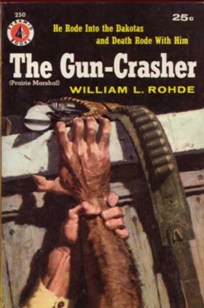 Pyramid Books - The Gun-crashers (pyramid Western, #250) - William L. Rohde