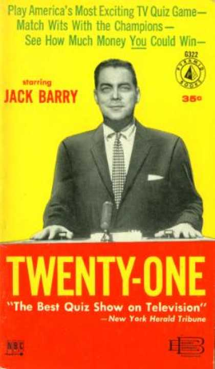 Pyramid Books - Twenty-one: Play America's Most Exciting Tv Quiz Game - Jack Barry