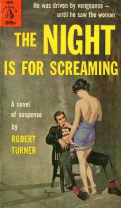 Pyramid Books - The Night Is for Screaming - Robert Turner