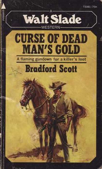 Pyramid Books - Curse of Dead Man's Gold - Bradford Scott