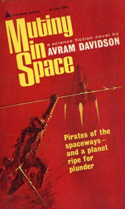 Pyramid Books - Mutiny in space - Avram Davidson