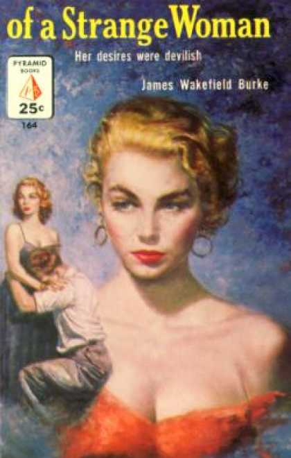 Pyramid Books - Of a Strange Woman - James Wakefield Burke