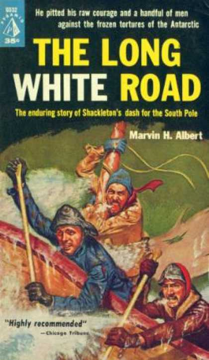 Pyramid Books - The Long White Road - Marvin H. Albert