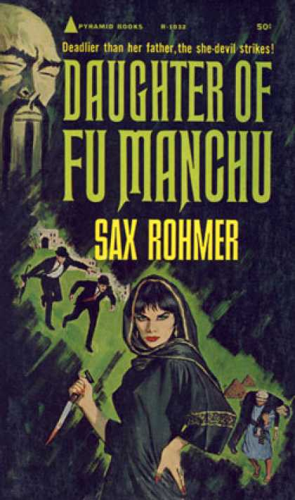 Pyramid Books - Sax Rohmer's the Daughter of Fu Manchu