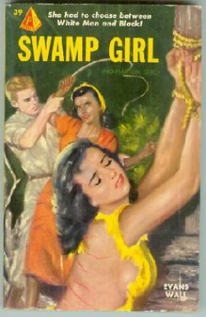 Pyramid Books - Swamp Girl - Evans Wall