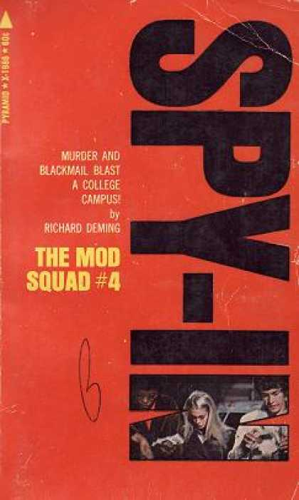Pyramid Books - The Mod Squad #4: Spy-in