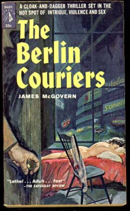 Pyramid Books - The Berlin Couriers - James Mcgovern