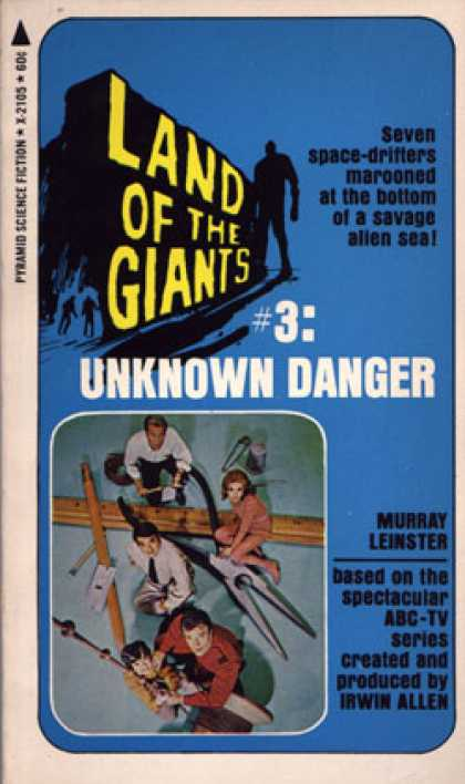 Pyramid Books - Unknown Danger - Murray Leinster