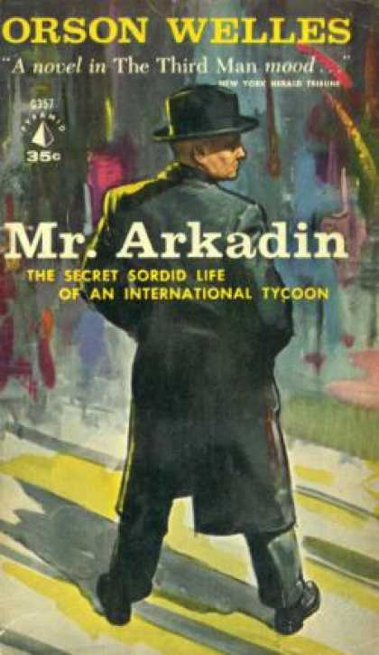 Pyramid Books - Mr. Arkadin. - Orson Welles