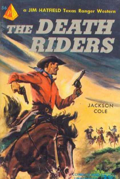 Pyramid Books - The Death Riders - Jackson Cole