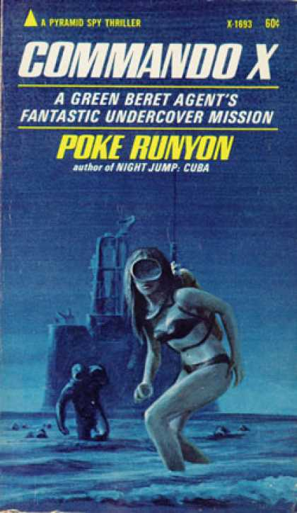 Pyramid Books - Commando X - Poke Runyon