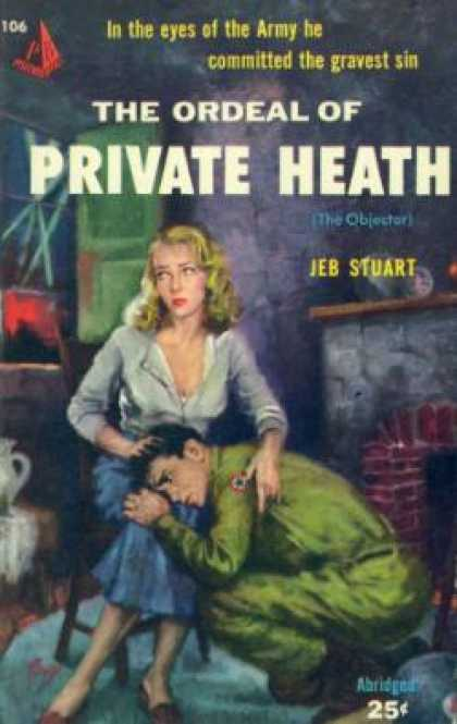 Pyramid Books - The Ordeal of Private Heath: - Jeb Stuart
