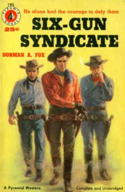Pyramid Books - The Six-gun Syndicate - Norman A. Fox