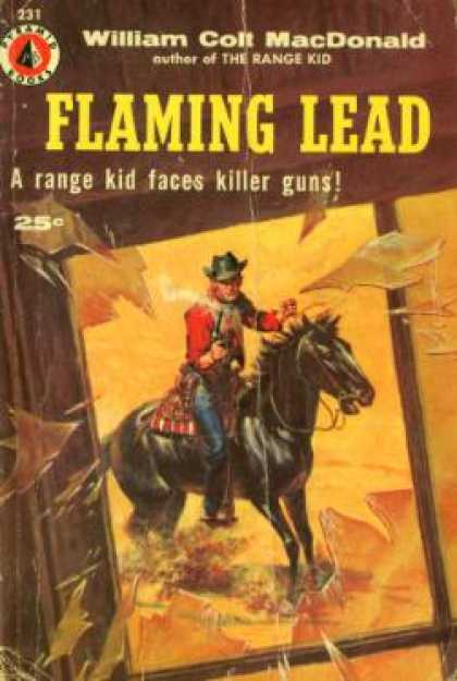 Pyramid Books - Flaming Lead - William Colt Macdonald