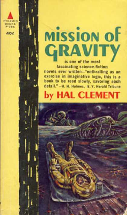 Pyramid Books - Mission of Gravity - Hal Clement