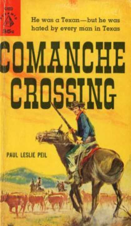 Pyramid Books - Comanche Crossing - Paul Leslie Peil