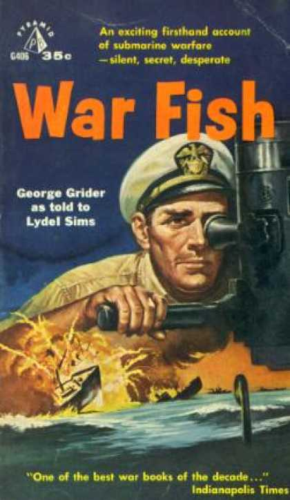Pyramid Books - War Fish - George Grider