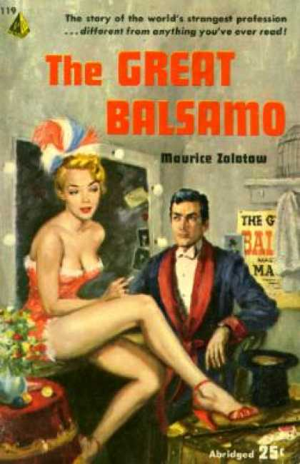 Pyramid Books - The Great Balsamo - Maurice Zolotow